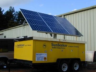 Mobile Solar Trailer